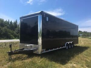 2015 atlass over height enclosed trailer