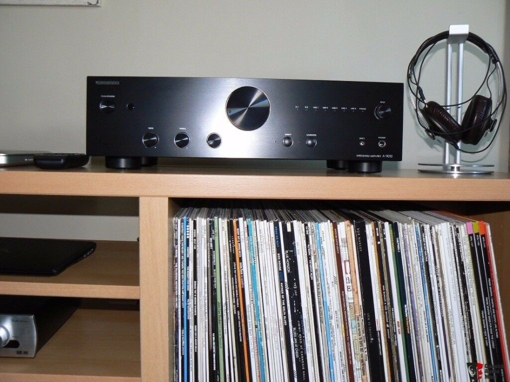 onkyo a 9010. onkyo a9010 stereo amplifier mint condition a 9010