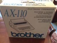 Brother AX-110 Electronic Typewriter