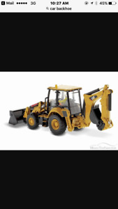 Looking for a cat or John Deere Backhoe