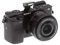 Sony A6000 ILCE‑6000L 24.3 MP Digital Camera w/Sony 16-50mm OSS Zoom lens