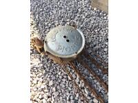 1 ton Morris block and tackle