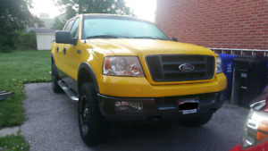 SOLD- 2004 FORD F150 FX4 SUPERCREW CAB. $9,950 OBO.