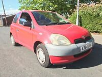 Toyota Yaris 1.0 VERY GOOD RUNNER, PX TO CLEAR