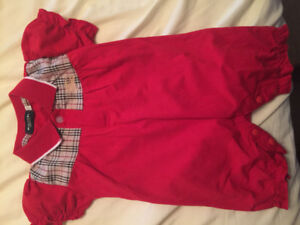 Never worn designer baby onesies and shoes