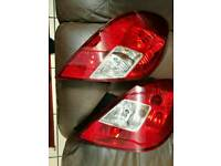 Vauxhall Corsa D 2013 Rear Lights