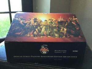 Street Fighter 15th Anniversary Edition Arcade Stick  PS2/XBOX