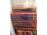 Variety of Haynes Manuals