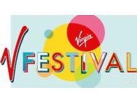 2 x V Festival Saturday Western Park Tickets