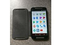 Unlocked Android Motorola Moto G2 8GB Black with box