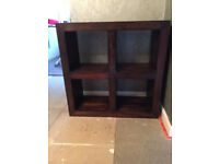 Brown Wooden Display Unit