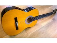 Encore Electro-Acoustic Classical Guitar Full Size with Case