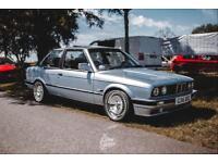 BMW E30 M50B25 325 Glacier Blue