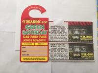 2 Sat Reading Festival tickets & Car Park Pass