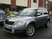 2009 59-Reg Skoda Yeti 2.0TDI CR ( 140ps ) 4x4 Elegance,FULLY LOADED CAR,LOOK!!!