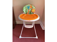 High Chair Mothercare Jungle print