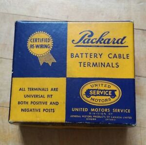 Vintage Packard Battery Cable Box