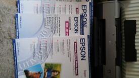 EPSON A3 A3+ Printer R1800 + Bundle of photo paper!