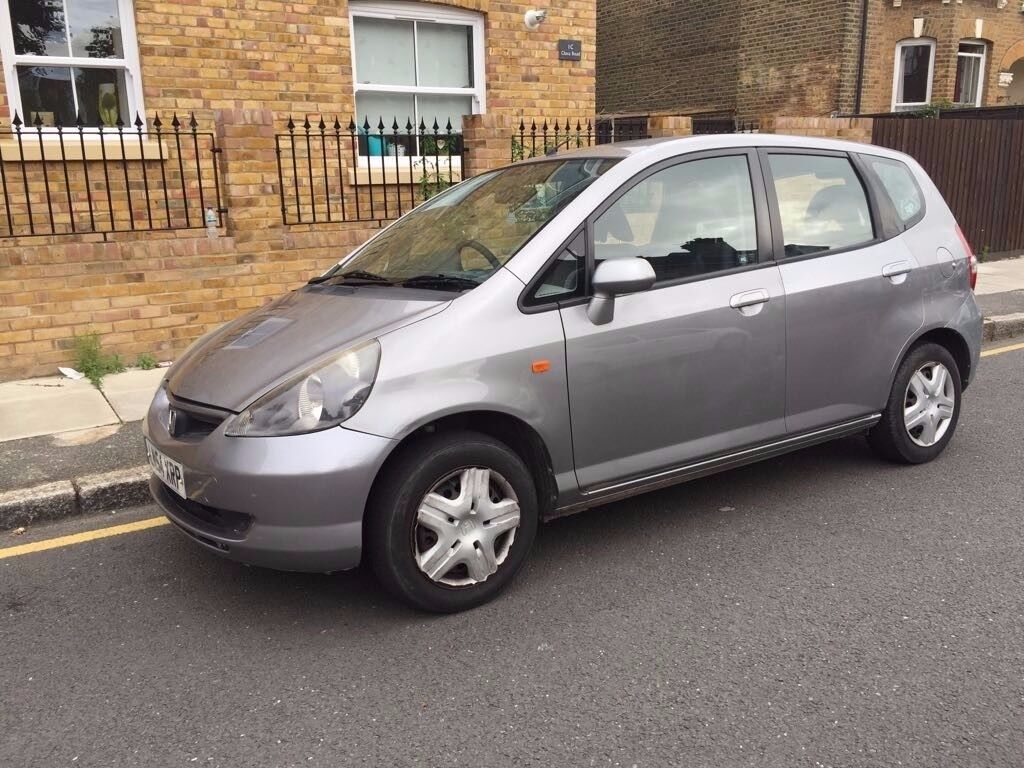2004 automatic honda jazz grey sunroof auto 80k 3 owner in stratford london gumtree. Black Bedroom Furniture Sets. Home Design Ideas