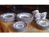 Palissy Game Series, by Royal Worcester 30 Piece Dinner Set