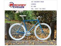 Brand new single speed fixed gear fixie bike/ road bike/ bicycles + 1year warranty & free service w9