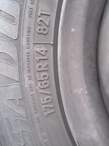 Toyo Versado Tires & Rims 175/65R14  Like New