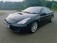 Toyota celica 1.8 VVTI v rare Collertors car thousand spent on it superb drive £999 astra golf audi
