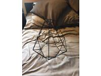 Black Wire Lamp Shade