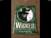 Authentic WICKED Stageshow Autographed Souvenir Programme