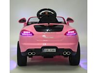kids electric car with a bluetooth