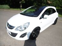 Vauxhall Corsa LIMITED EDITION LOOK @ THE MILEAGE. (white) 2011