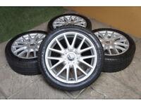 """Genuine VW Golf MK5 Classix 17"""" Alloy wheels 5x112 Audi A3 VW Passat Alloys"""