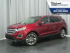2016 Ford Edge Titanium AWD *Leather/Heated+Cooled Seats/Skyroof