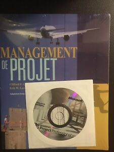 Livre Management de projet/Project management book sealed- 100$