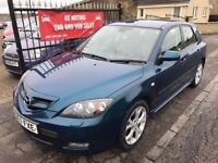 2007 MAZDA 3 SPORT DIESEL, 1 YEAR MOT, WARRANTY, NOT ASTRA MEGANE FOCUS GOLF S40