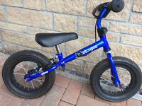 Blue Stompee Balance Bike with Brake