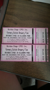 Two Tickets to Mamma Mia or Little Shop of Horrors