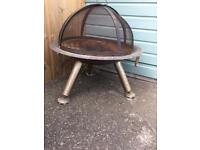 Funky BBQ or fire pit