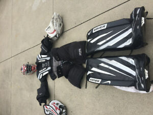 Goalie set for cheap