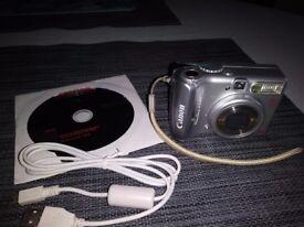 Canon PowerShot A540 Digital Camera 6MP 4 X optical