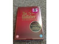 The Godfather Dvd collection - unopened