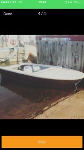 14ft boat ( no motor )