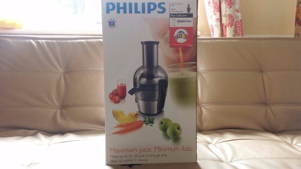 Juicer - Brand New Philips Viva Collection 700W 2 Litre