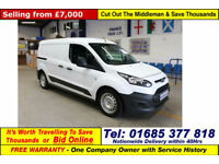 2014 - 64 - FORD TRANSIT CONNECT L210 LWB 1.6 TDCI 75PS (GUIDE PRICE)
