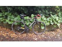Boardman carbon frame road bike with full Ultegra 6800 set + spares and tools
