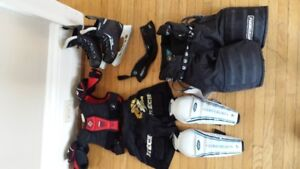kids hockey equipment for child age 4 to 6