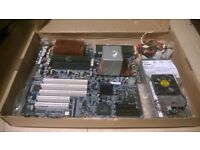 RioWorks HDAMA Dual AMD Opteron Server Motherboard, 8GHz CPU, 6GB Memory, 2 x Heat Sinks & 450w PSU