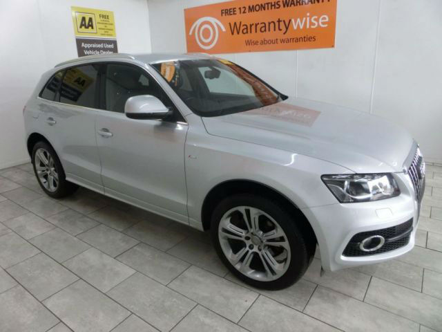 2011 Audi Q5 2.0TDI ( 170bhp ) quattro S Line ***BUY FOR ONLY £74 PER WEEK***