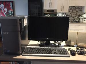 Ordinateur de bureau Acer Aspire AM5811-R1512