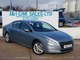 PEUGEOT 508 2.0 ACTIVE HDI 4d AUTO 163 BHP A LOW PRICE DIESEL (blue) 2012